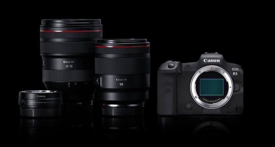8K video özelliği ile ön plana çıkan yeni Canon EOS R5 aynasız kamera modeli duyuruldu!
