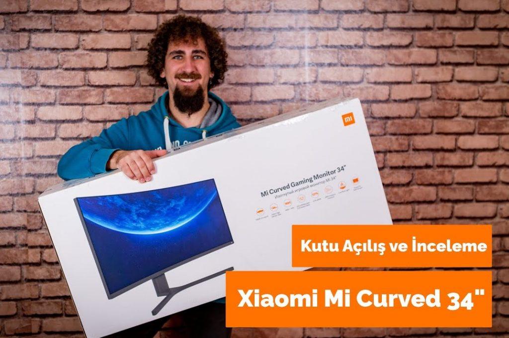 Yeni Xiaomi Mi Curved 34″ Led Monitör – Hem Oyun, Hem de Fotoğraf ve Video Editörleri İçin